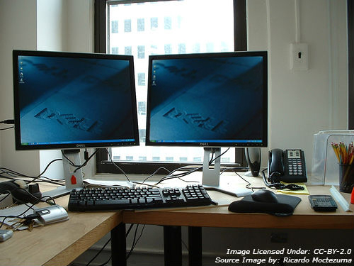 Switch Screens At Home For Work Laptop