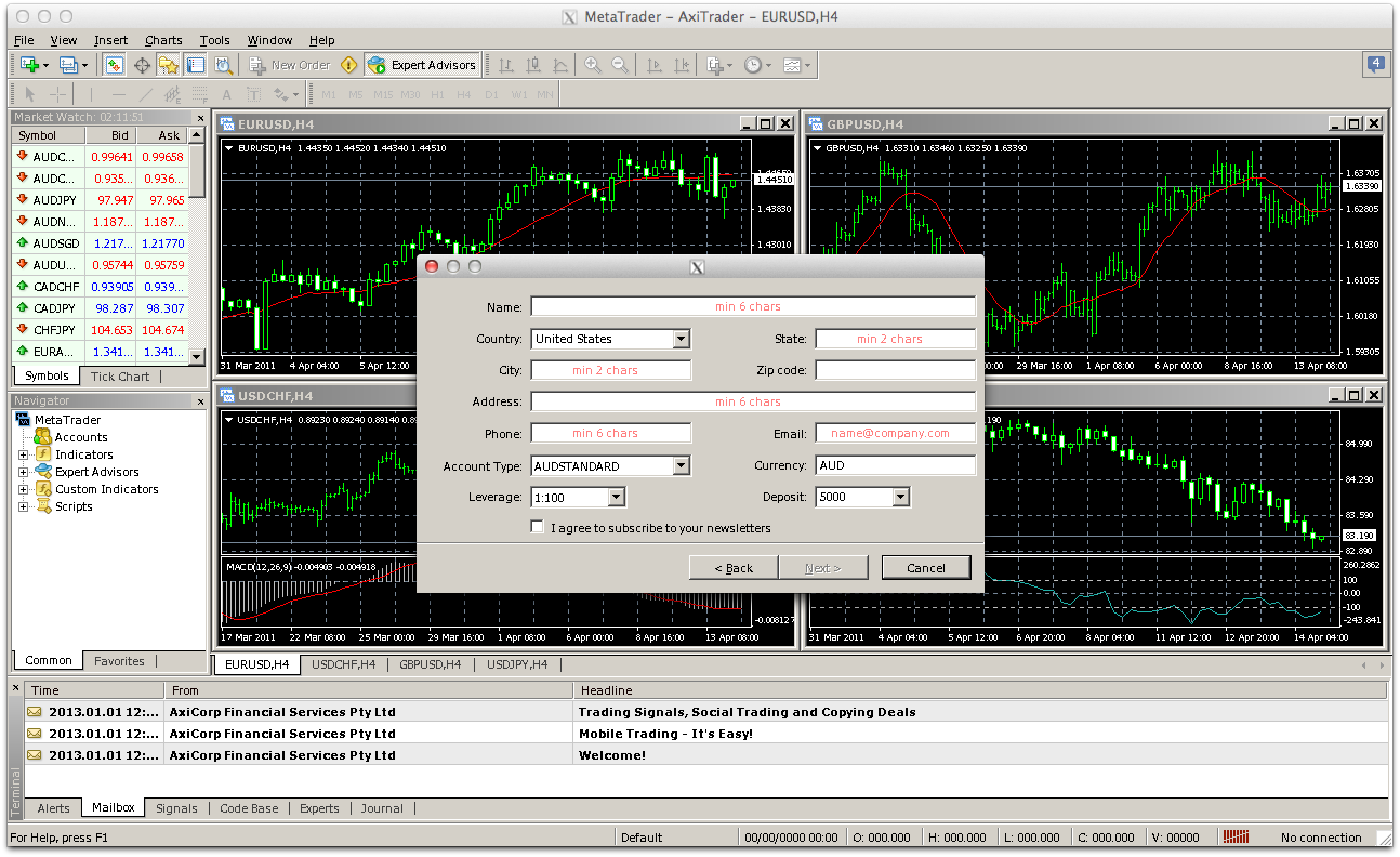 Latest metatrader build my own house